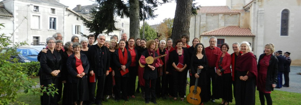 avec le Trio Morenica • Mazières-en-Gâtine, septembre 2015