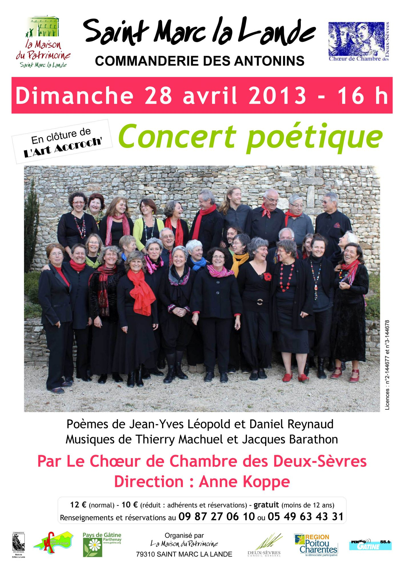 Affiche concert poetique 28 avril 2013