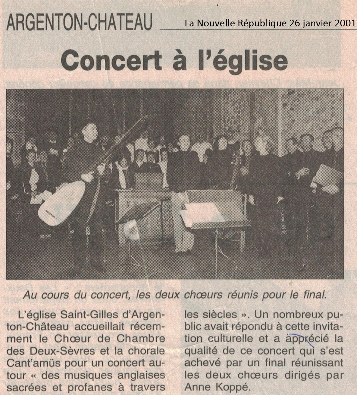 Argenton-Château 2001