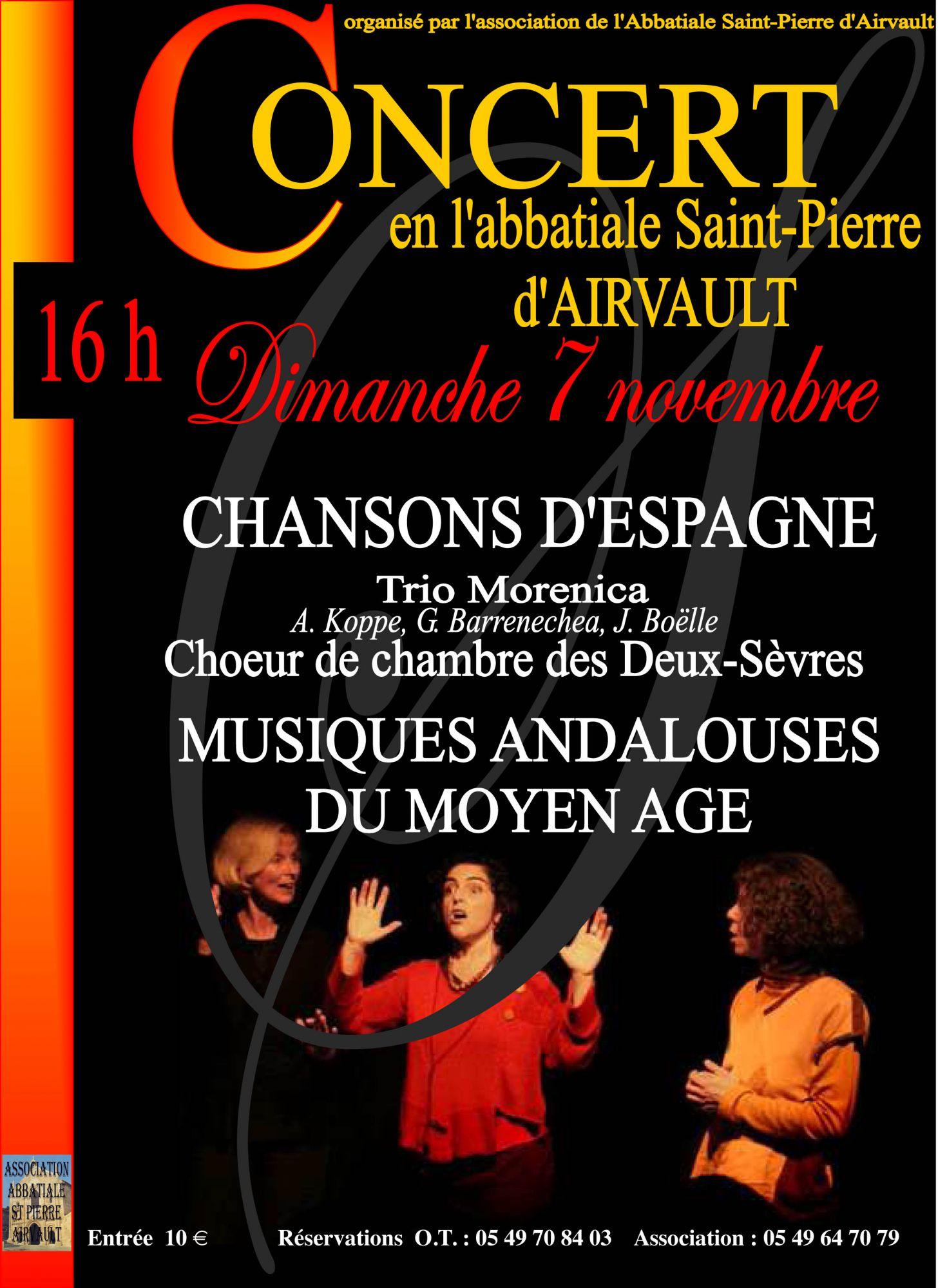 Chansons d'Espagne 2010