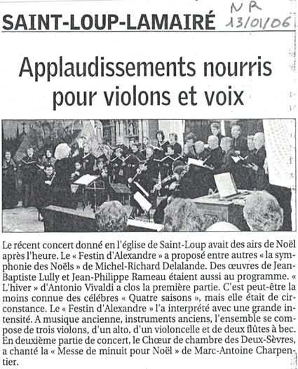 Charpentier 2006