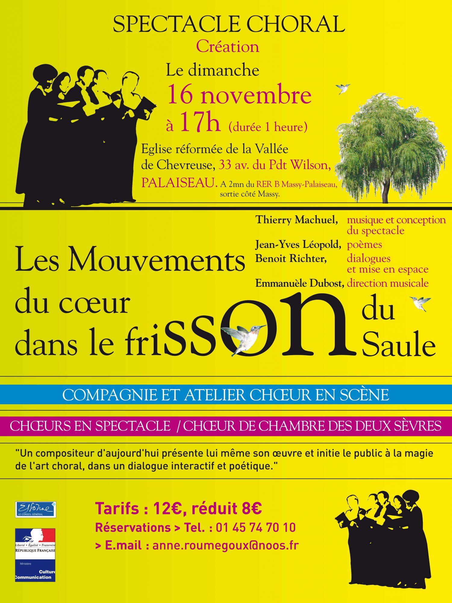 Concert Choeur en Scene Palaiseau