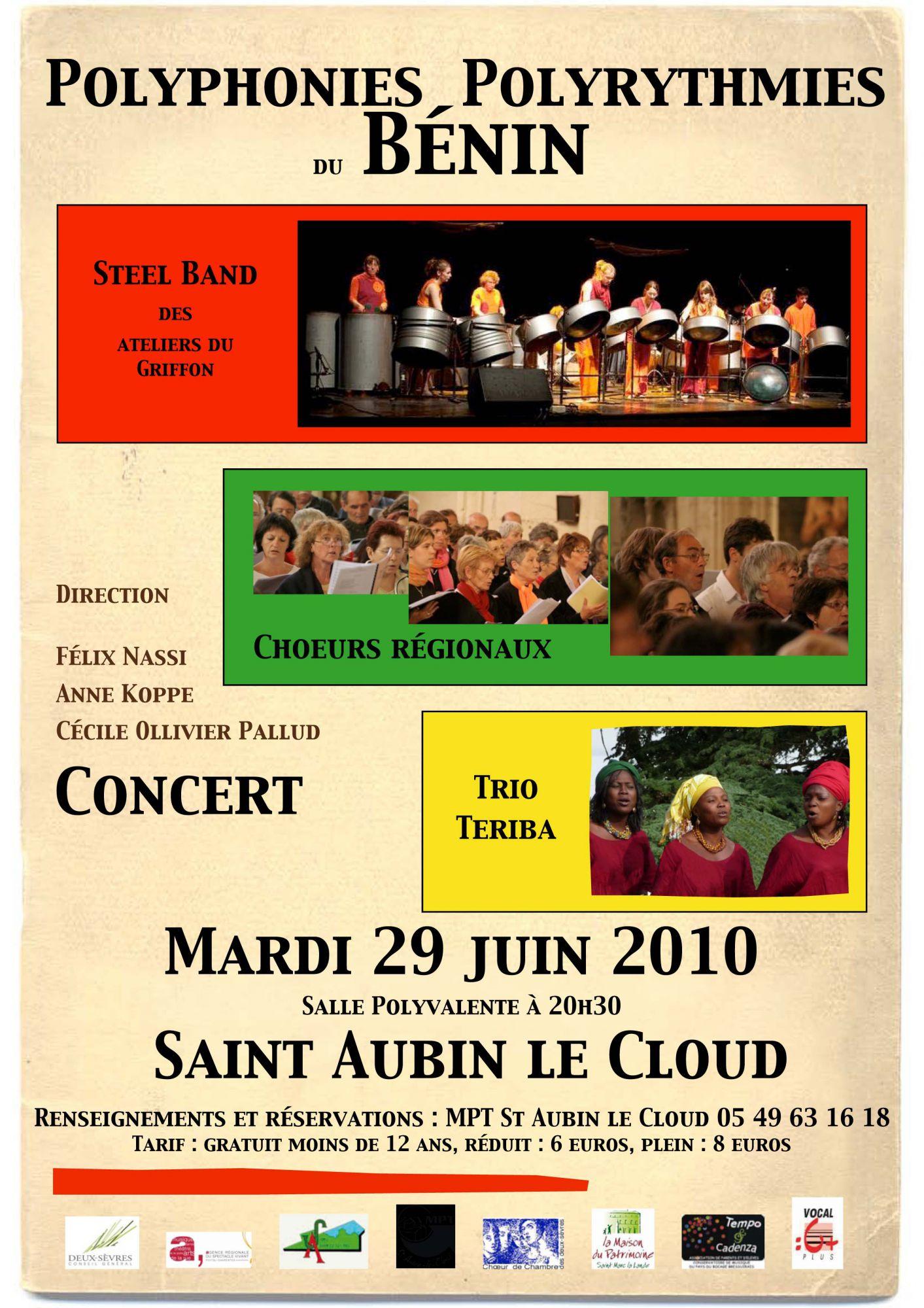 concerts pour St Aubin