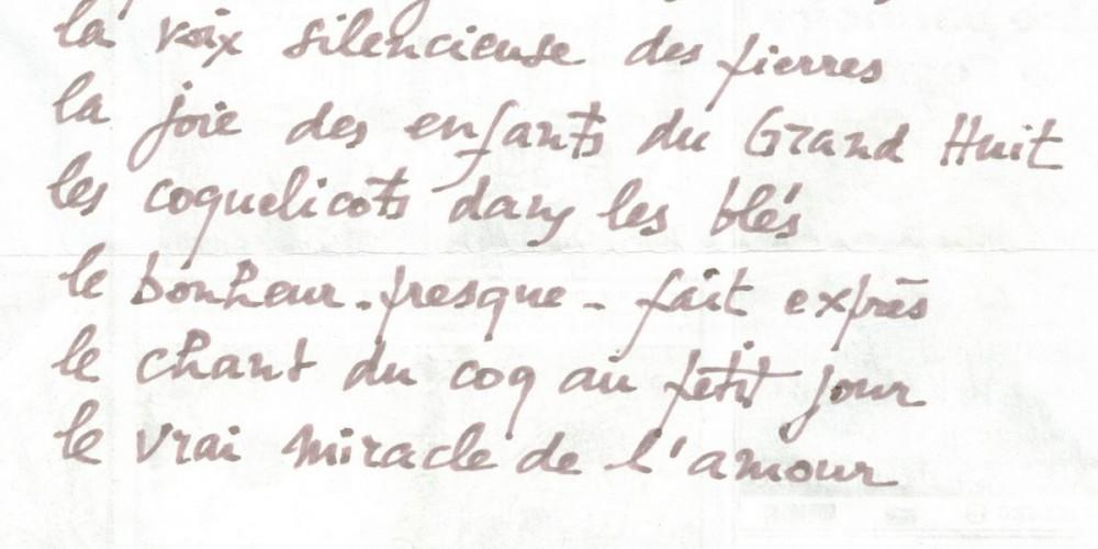 Texte écrit par Daniel Reynaud