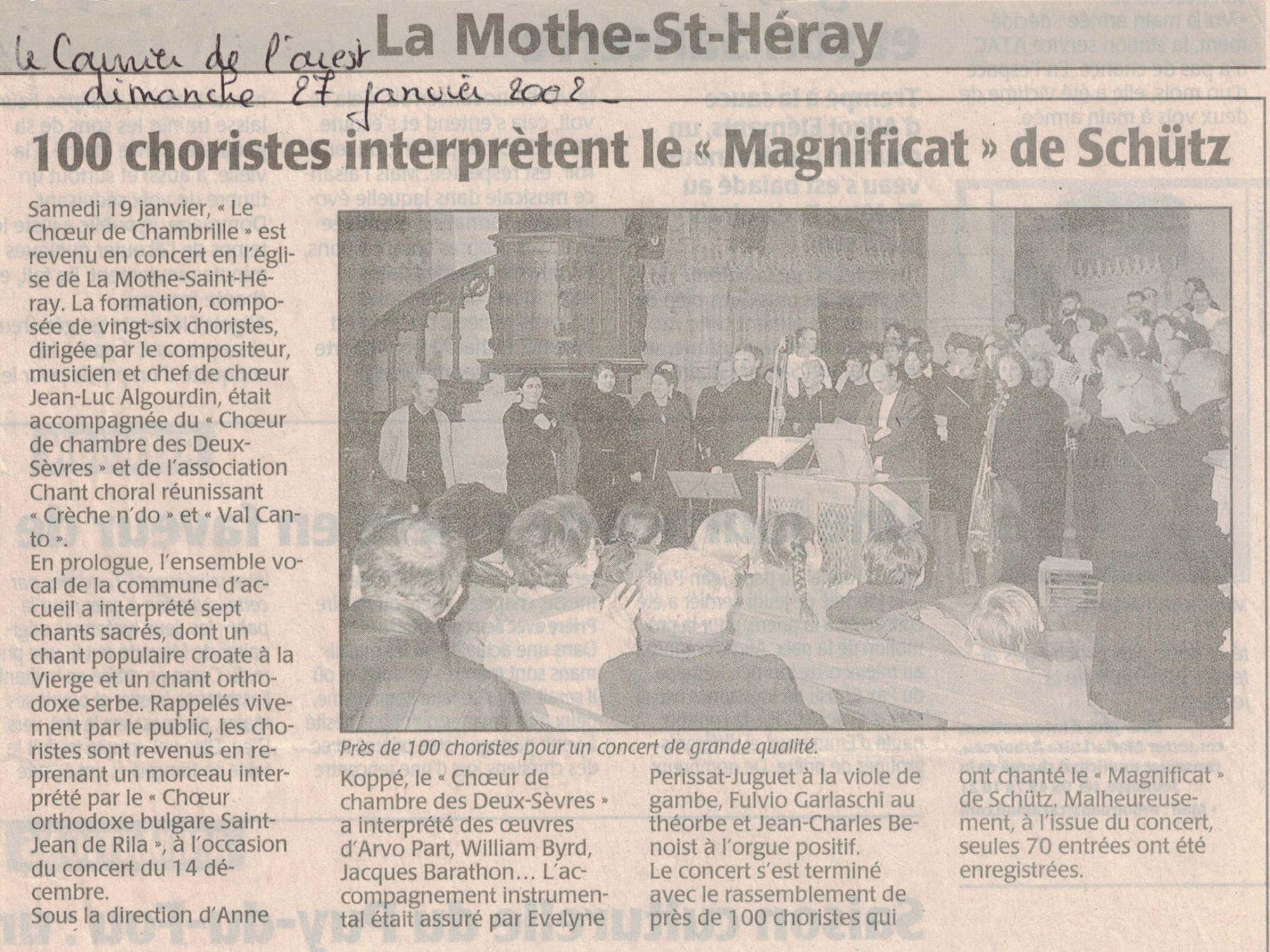 La Mothe St-Heray 1 2002