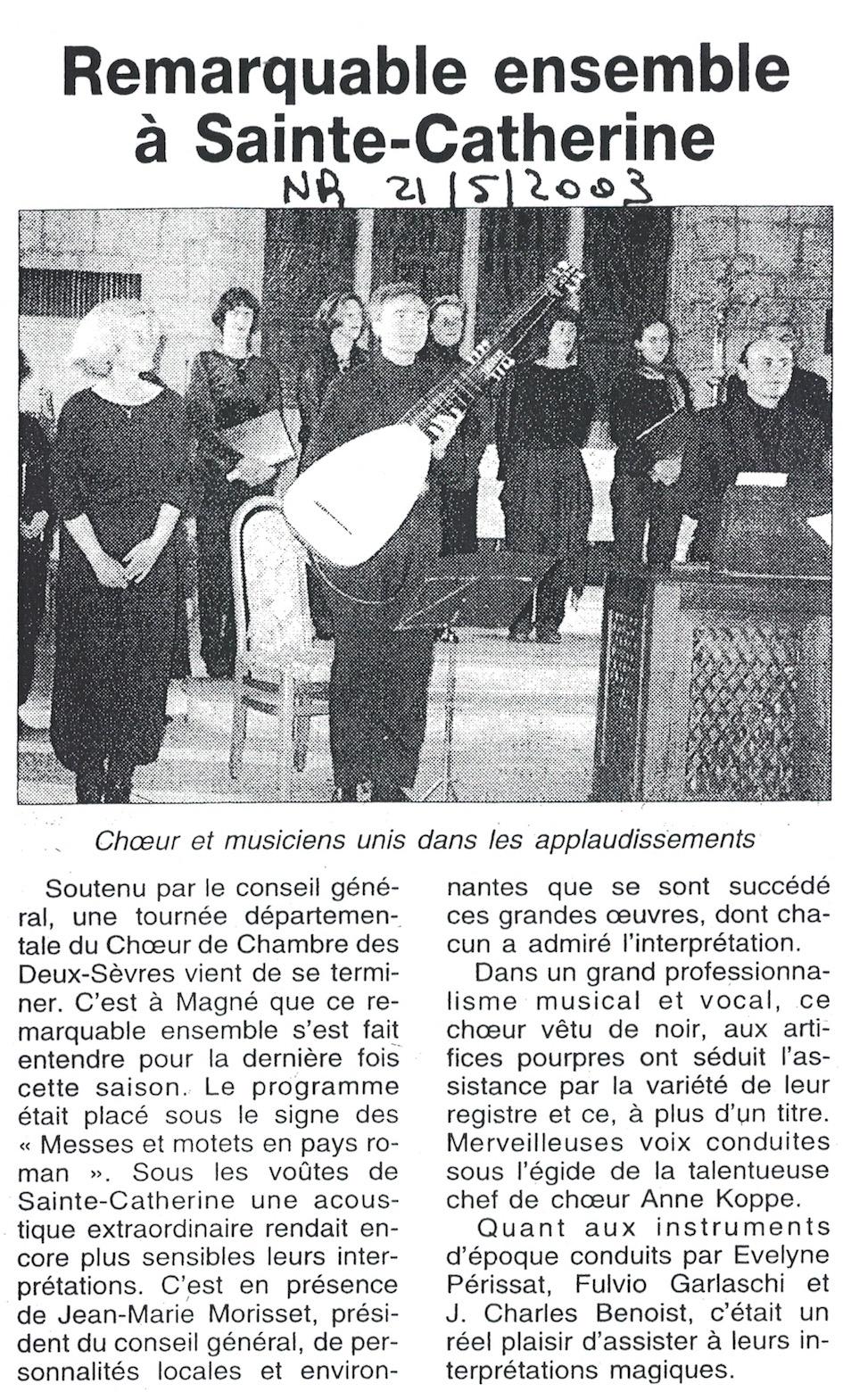 Magné 2003