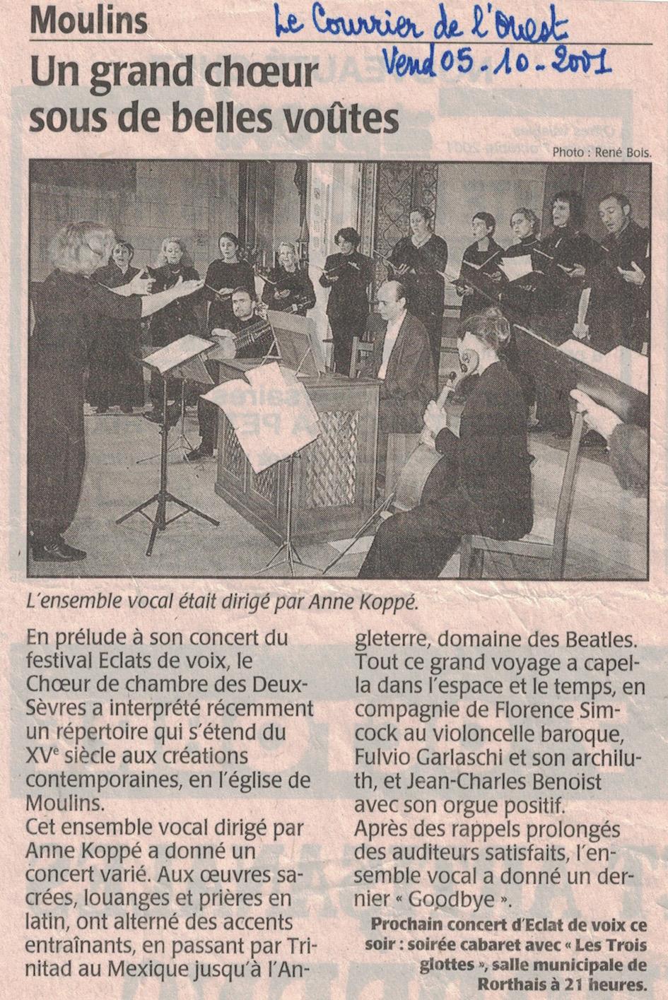 Moulins 2001