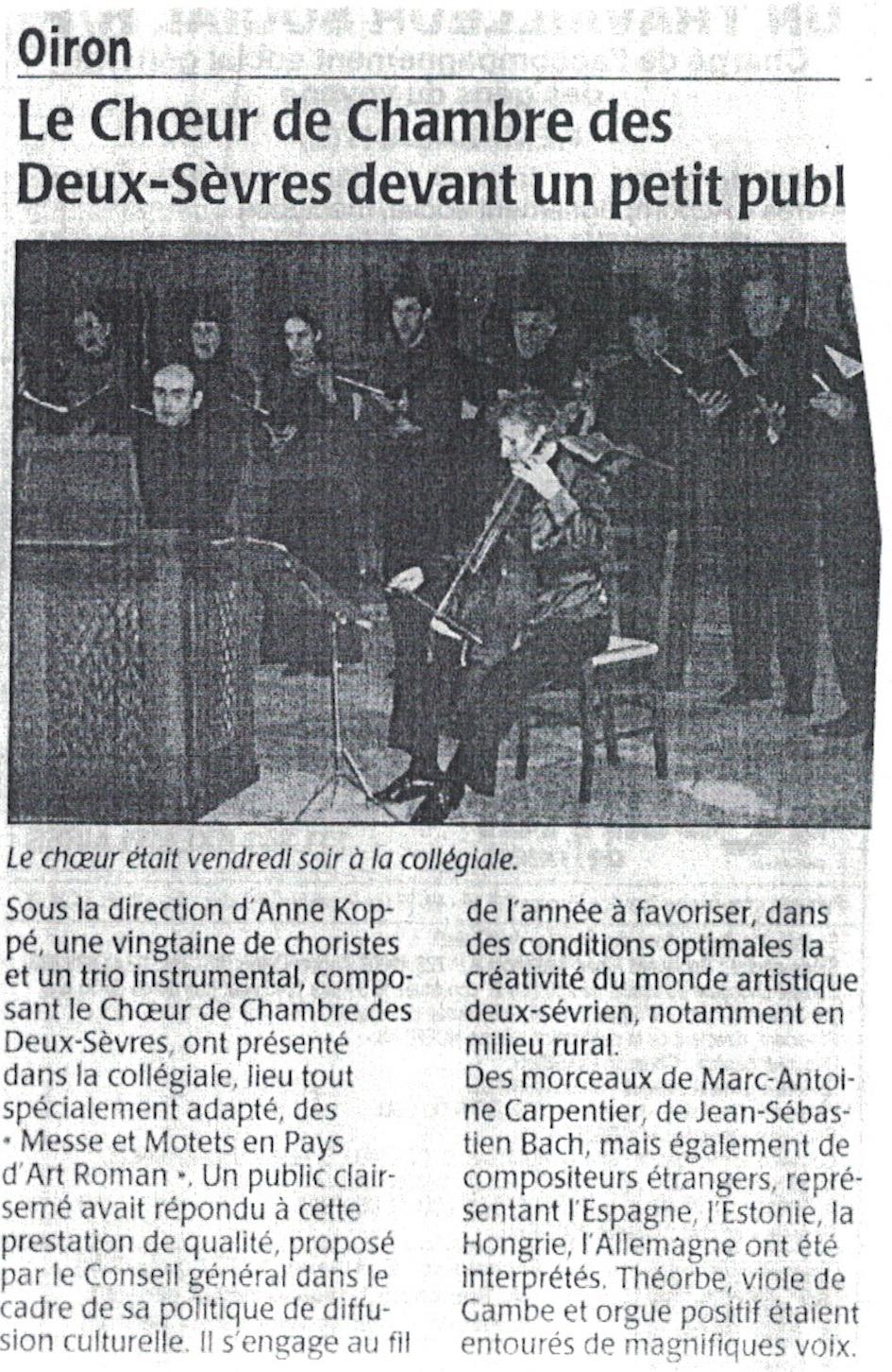 Oiron 2003