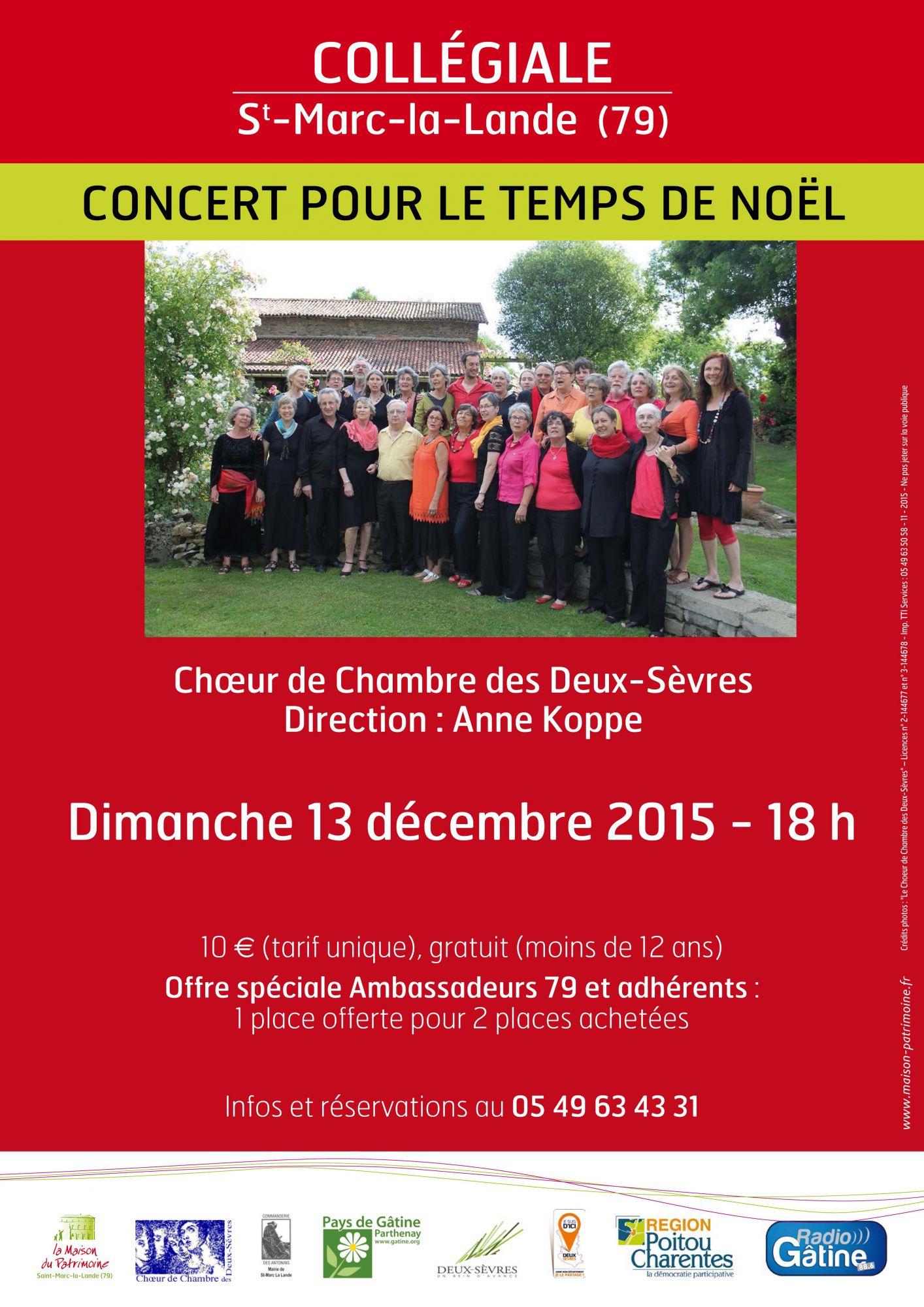 Saint-Marc-la-Lande, decembre 2015