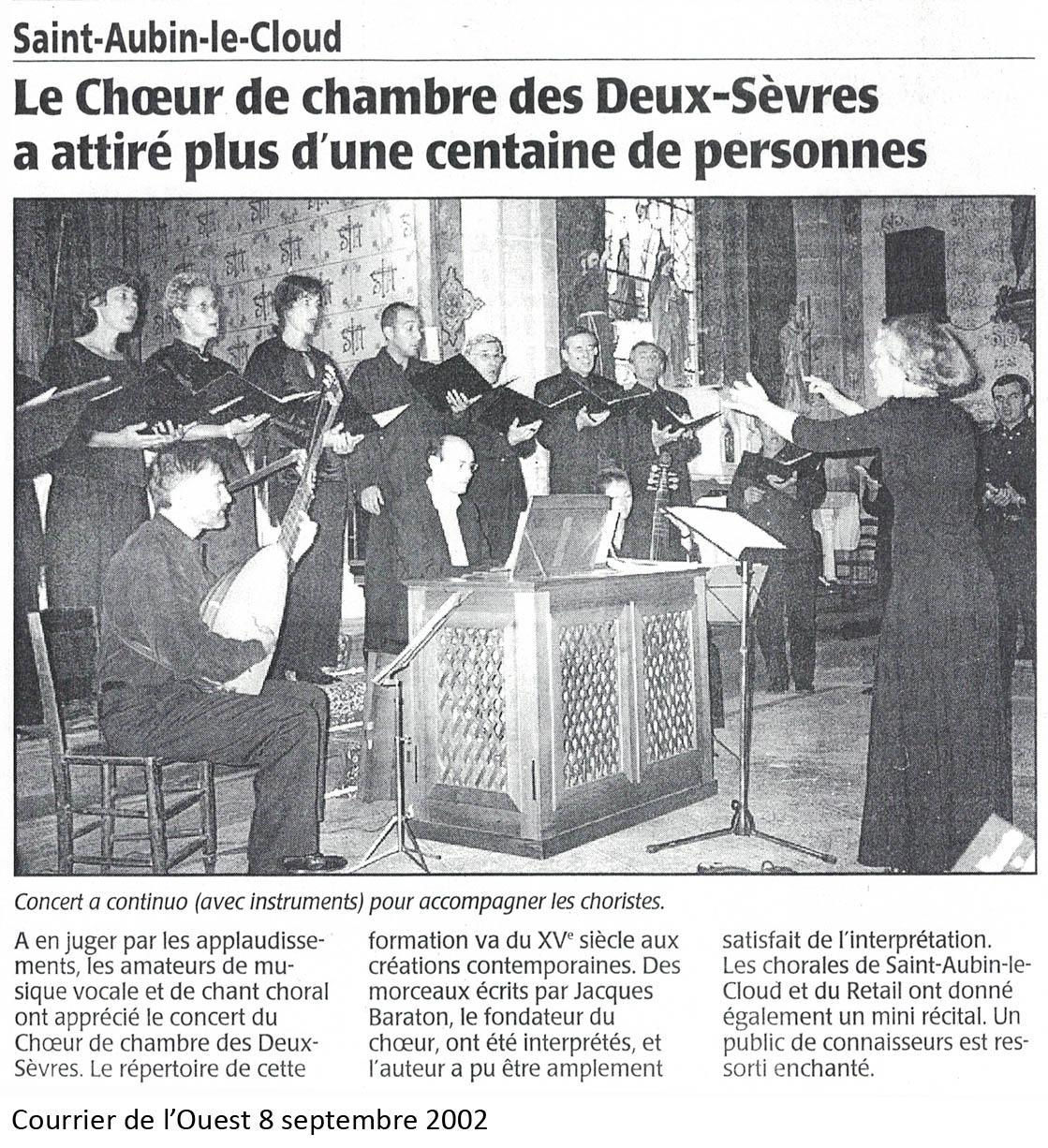 St-Aubin le Cloud 2002