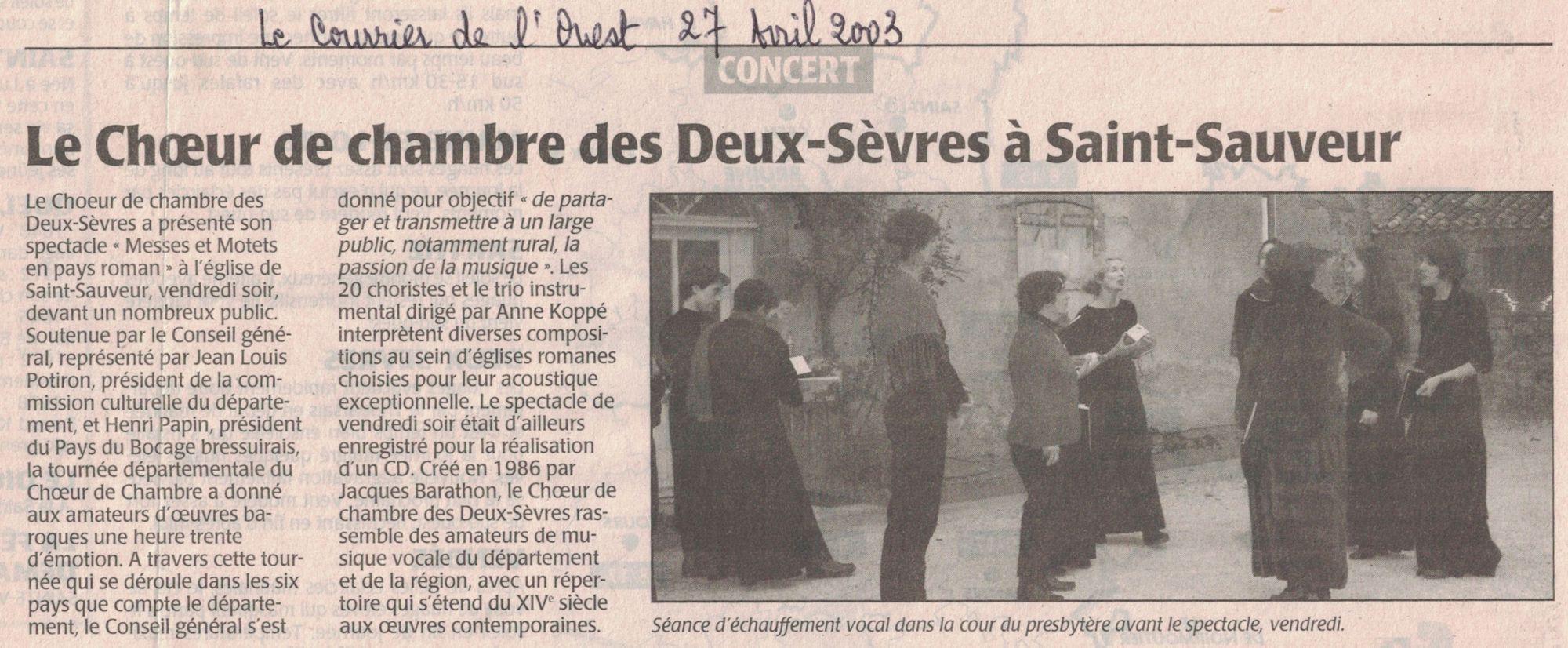 St-Sauveur 2003