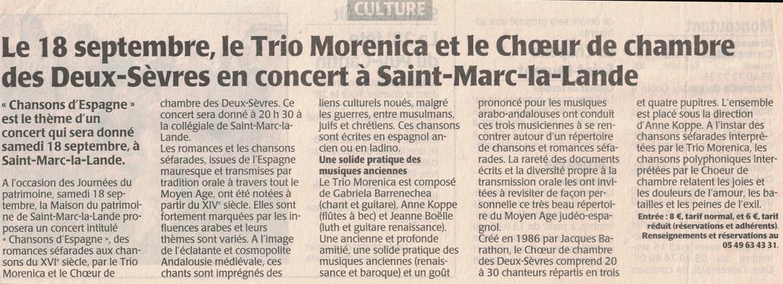 Trio Morenica
