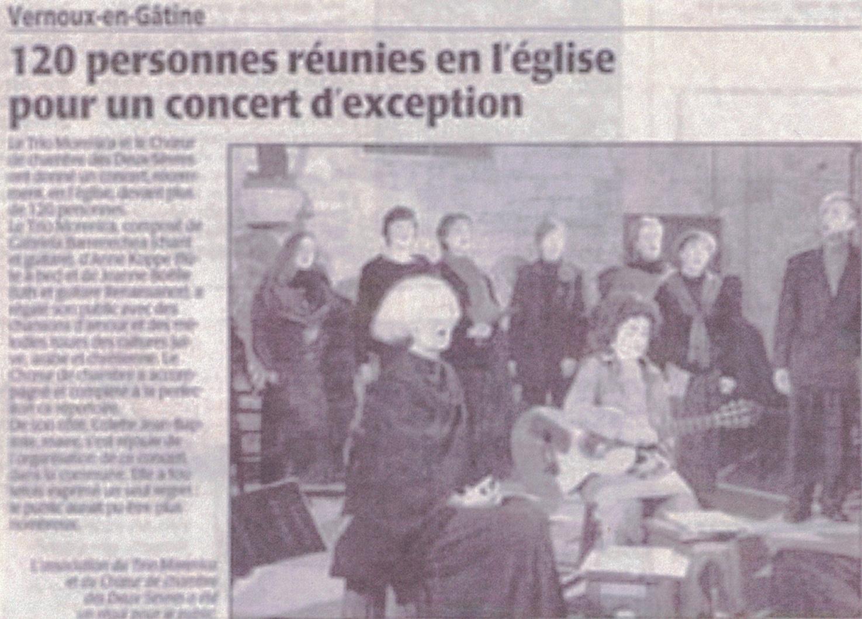 Vernoux-en-Gâtine 2005