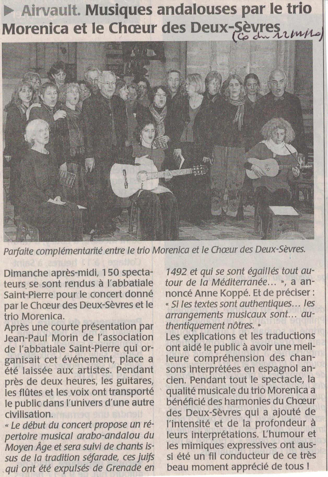 Chansons d'Espagne, Airvault 2010