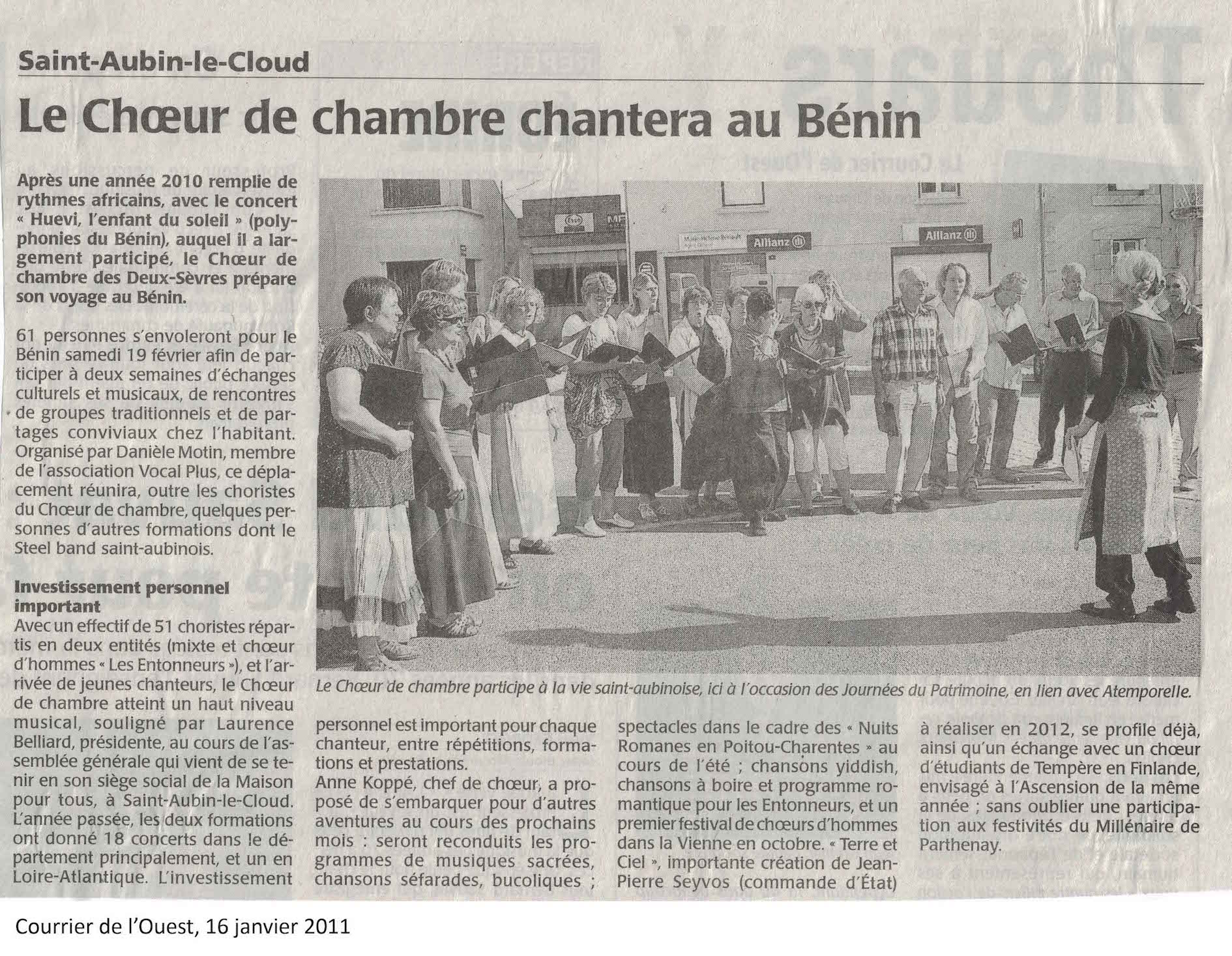 CO le Chch au Bénin janvier 2011