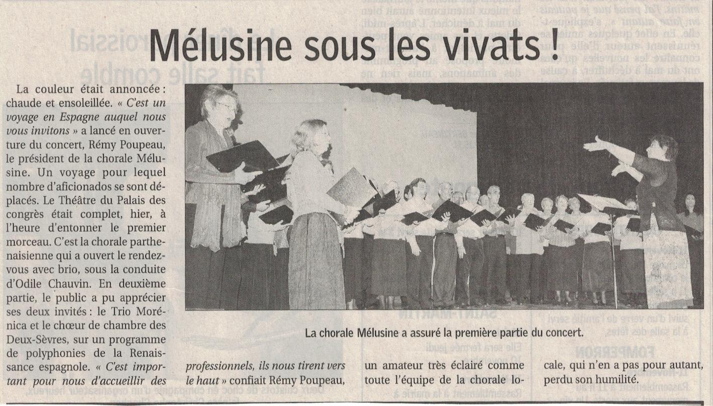 Mélusine:chch 2007