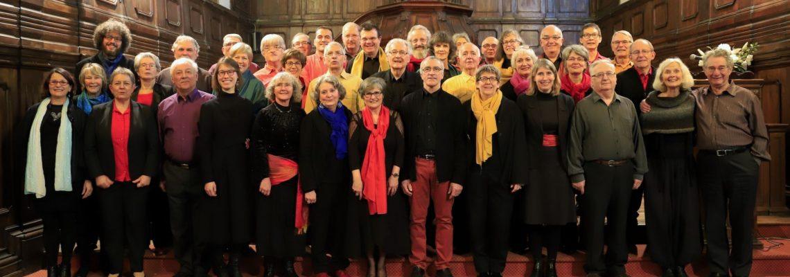 Niort, Choeur de Chambre et Entonneurs, 4 février 2018